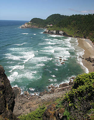 Photograph - Oregon Coast by John Bushnell