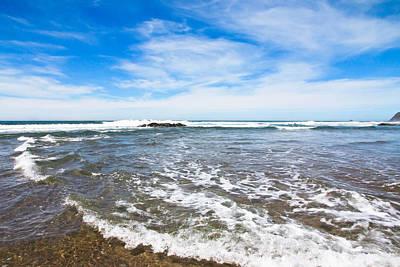 Photograph - Beach Waves by Athena Mckinzie