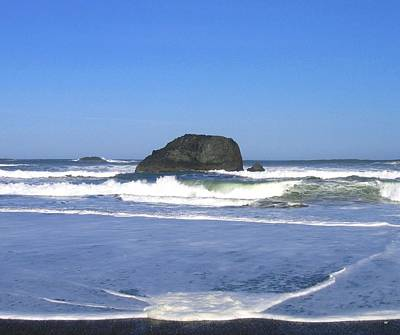 Photograph - Oregon Coast Seascape by Will Borden