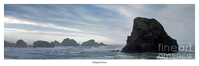 Oregon Coast Art Print by Twenty Two North Photography