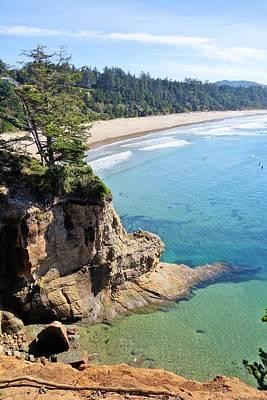 Photograph - Oregon Coastline by Jane Girardot