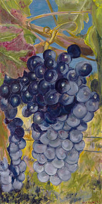 Painting - Oregon Grapes by Nick Vogel