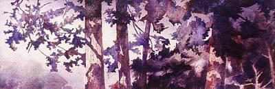 Oregon Grove Art Print by John  Svenson