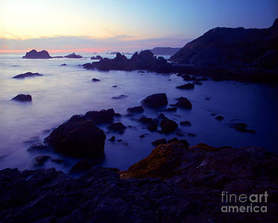 Photograph - Oregon - Harris Beach Sunset by Terry Elniski
