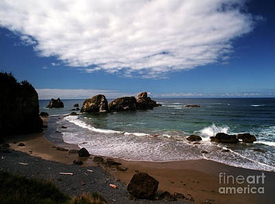Photograph - Oregon - Indian Beach by Terry Elniski