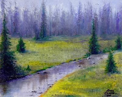 Oregon Landscape - 126 Art Print