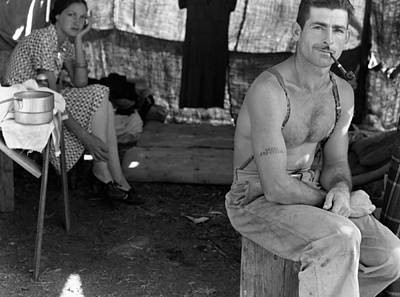 Photograph - Oregon Lumberjack, 1939 by Granger