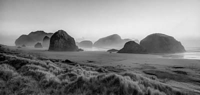 Photograph - Oregon Sea Stacks by Debra and Dave Vanderlaan