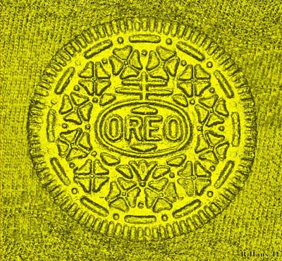 Oreo Chrome Yellow Art Print