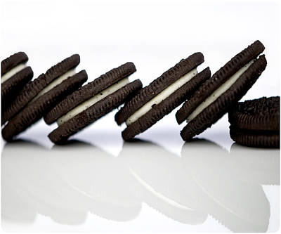 Junk Photograph - Oreo Cookies by Juli Scalzi