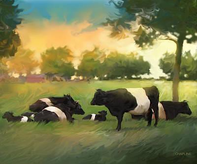 Oreo Cows Print by Curtis Chapline