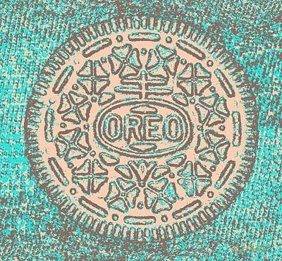 Oreo In Negative Hope 14 Art Print by Rob Hans