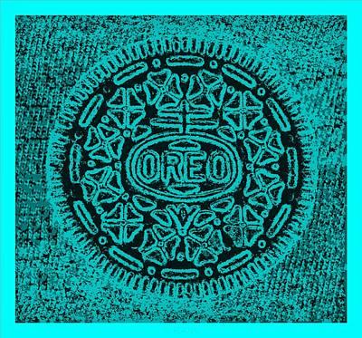 Thomas Kinkade Royalty Free Images - Oreo Hope Turquoise Royalty-Free Image by Rob Hans