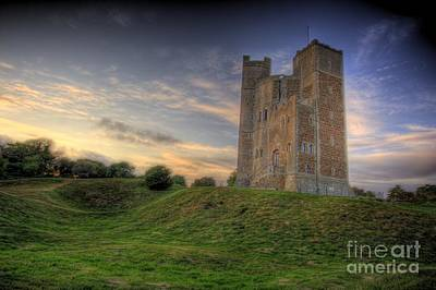 John Mitchell Photograph - Orford Castle by John Mitchell