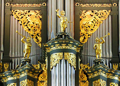 Photograph - Organ In Groningen by Jenny Setchell