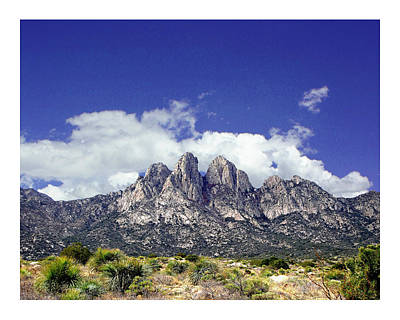 Photograph - Organ Mountain Springtime by Jack Pumphrey