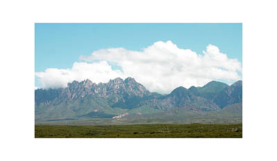 Photograph - Organ Mountains After The Monsoon by Jack Pumphrey