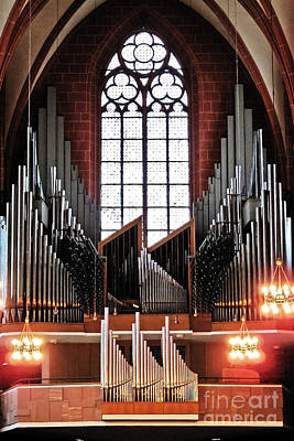 Photograph - Organ Of St. Bartholomew by Elvis Vaughn