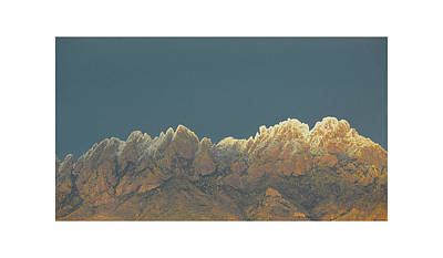 Las Cruces Photograph - Organ Snowy Mountains by Jack Pumphrey