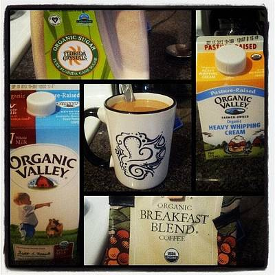 Love Wall Art - Photograph - #organic #coffee #mug #love by Mandy Shupp