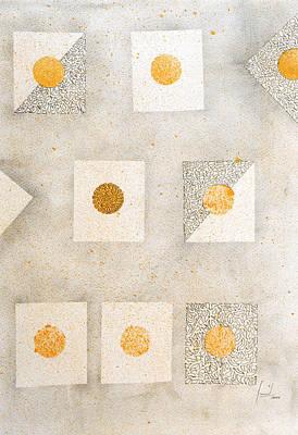 Mixed Media - Organic Dot by Sumit Mehndiratta