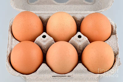 Still Life Photograph - Organic Eggs by George Atsametakis