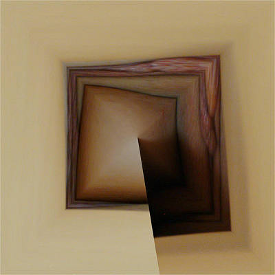 Photograph - Organic Square by T F McDonald