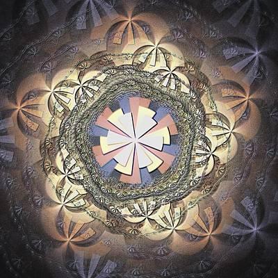 Fibre Art Digital Art - Organic Weave by Anastasiya Malakhova