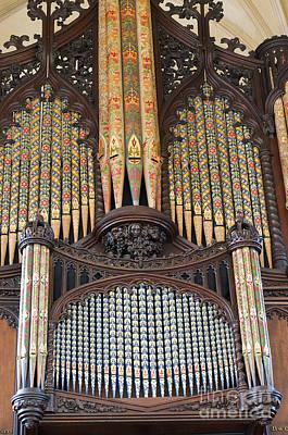 Photograph - Organs Of Music by Brenda Kean