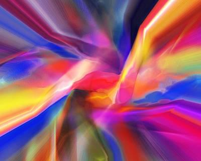 Digital Art - Orgasm by David Lane