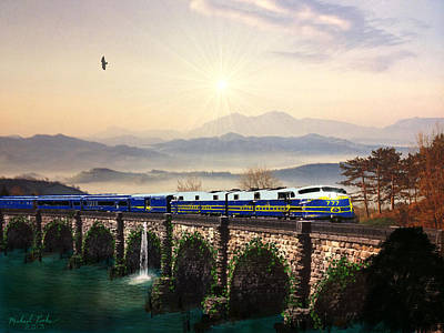 Orient Express Art Print by Michael Rucker