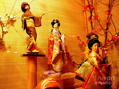 Photograph - Oriental Costumes by John Potts