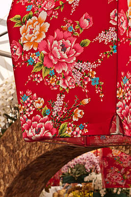 Photograph - Oriental Flowers by Wendy Le Ber