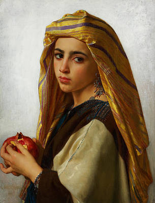 Gerome Painting - Oriental Girl by Celestial Images