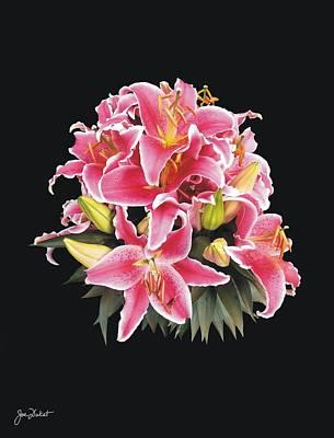 Photograph - Oriental Lily by Joe Duket