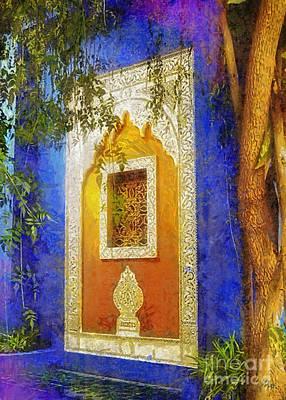 Vivid Digital Art - Oriental Mood by Mo T