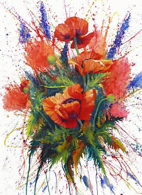 Painting - Oriental Overture by Karen Mattson