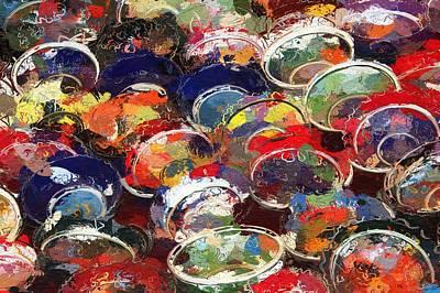 Peel Painting - Oriental Peels by Steve K