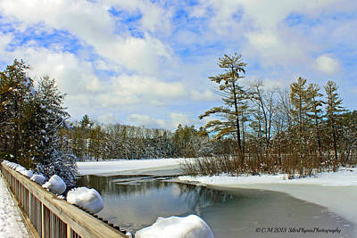 Maine Landscape Photograph - Oriental Powder Mills Lake by Catherine Melvin