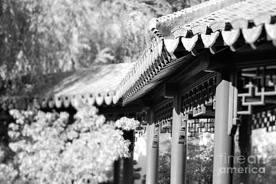 Art Print featuring the photograph Oriental Roof #2 by George Mount
