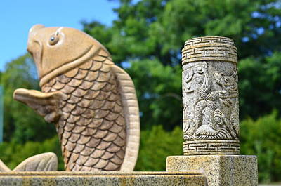 Oriental Style Stone Cuts Original