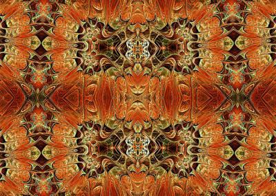 Philosophical Mixed Media - Oriental Variations by Georgiana Romanovna