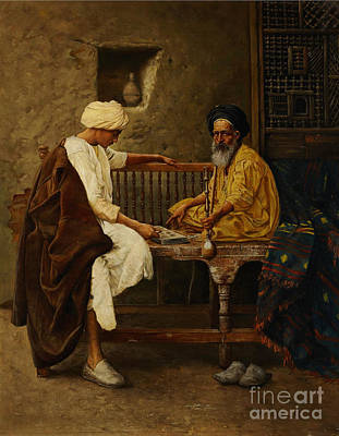 Male Painting - Orientalist Paintings by Celestial Images