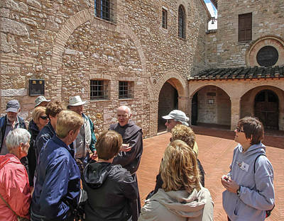 Photograph - Orientation At San Damiano - May 30 by Dwight Theall
