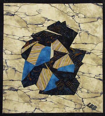 Lynda Boardman Art Tapestry - Textile - Origami by Lynda K Boardman