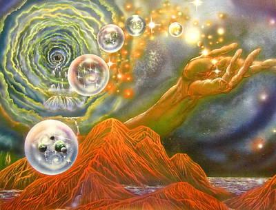 Origin Of The Multiverse Original by Sam Del Russi
