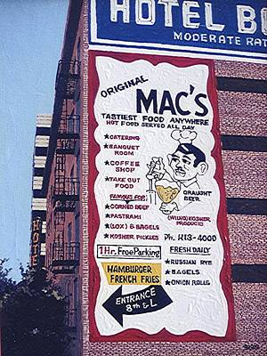 Original Mac's Art Print by Paul Guyer