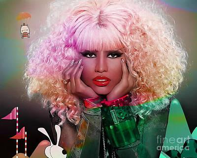 Original Nicki Minaj  Art Print