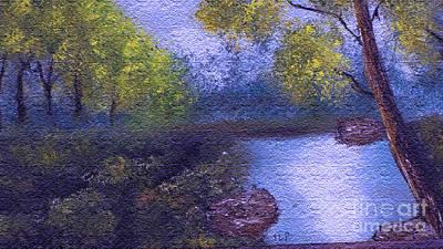 Original Oil Art Print