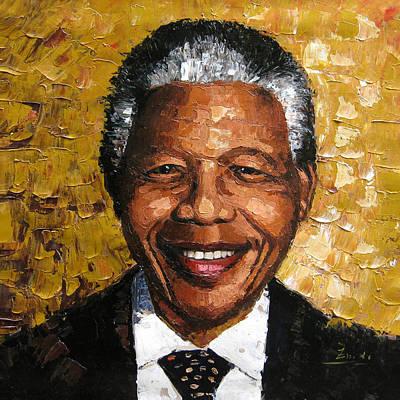 Original Painting Nelson Mandela Original